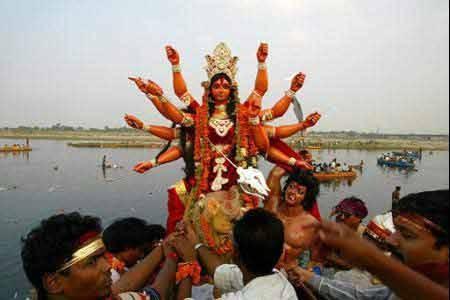 Durga-Fest in Indien