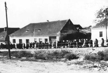 Das Lager Lackenbach im Burgenland