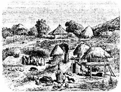 Romasiedlung in der Wallachei 1862